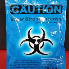 a picture of Caution Super Strong Incense